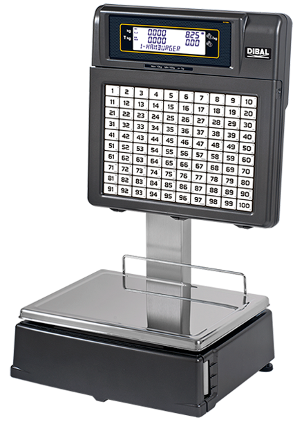 Retail Scales with Printer - RD 7002