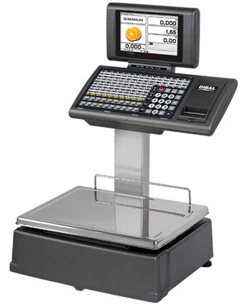 Retail Scales with Printer - RD 7100