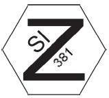 Security marking - Hexagon