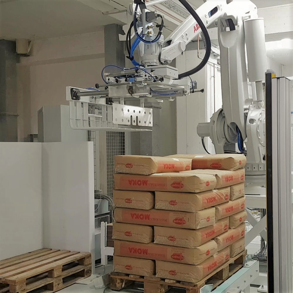 Robotic Palletisers and Packers
