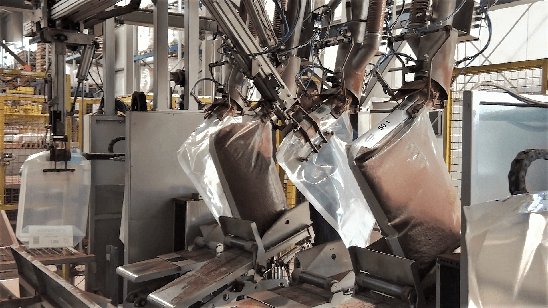 Automatic Baggers for Valve Bags