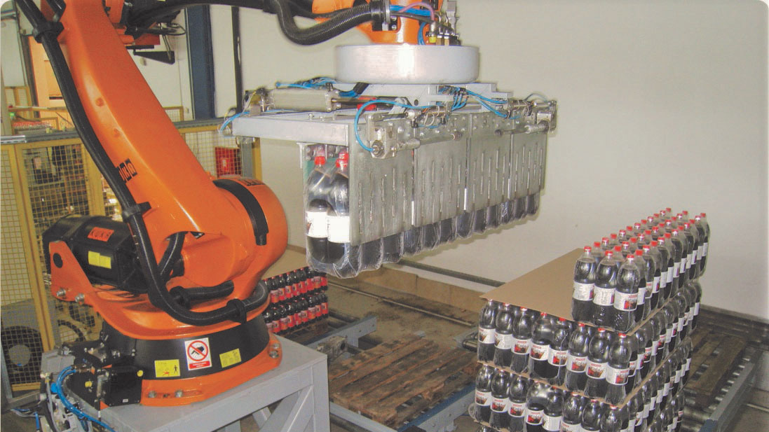 Robotic Palletising for Secondary Packaging