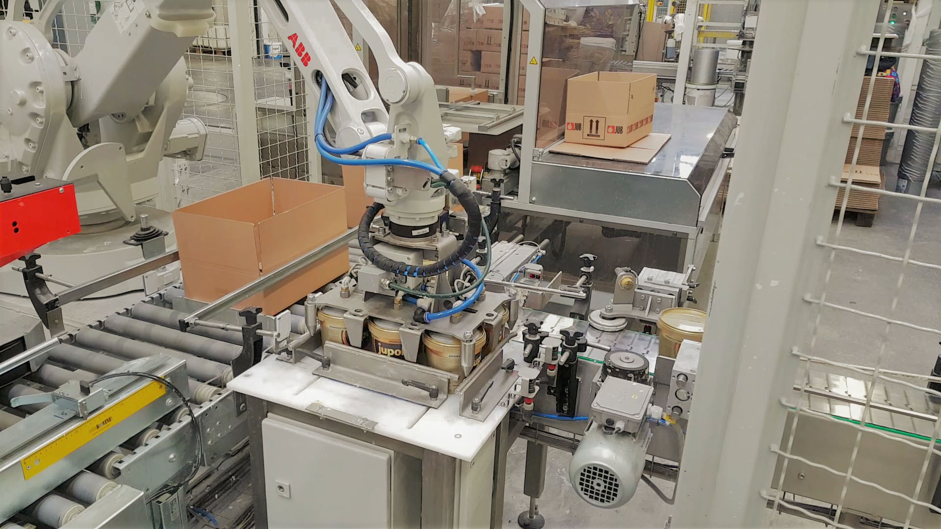 Robotic Case Packers