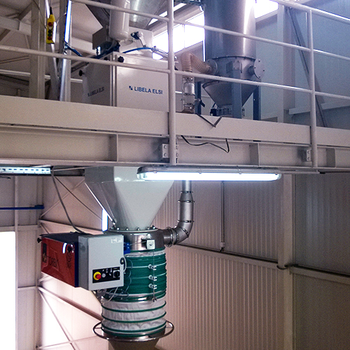 Automatic weighing and feeding